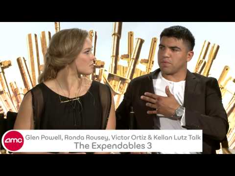 Kellan Lutz, Ronda Rousey, Glen Powell, & Victor Ortiz Talk THE EXPENDABLES 3 With AMC