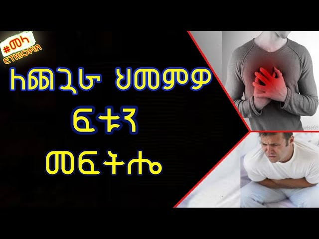 Ethiopia: How to Get rid of Gastric Pain in Amharic