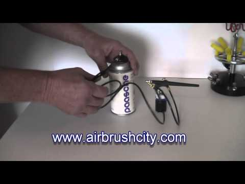 Airbrush City Propellant Can Adapter / Regulator
