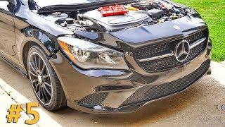 Mercedes CLA За 350К Красим И Собираем
