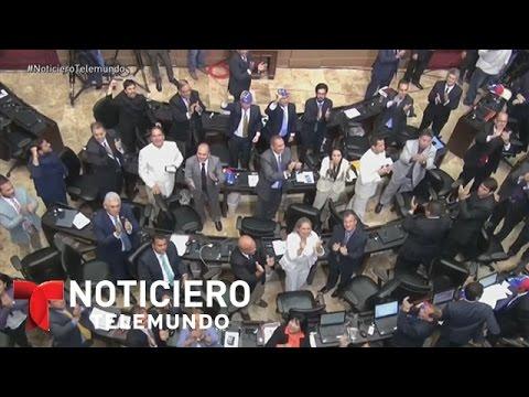 La oposición toma control de la asamblea en Venezuela | Noticiero | Noticias Telemundo