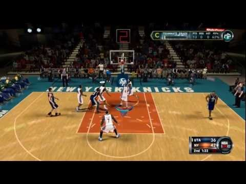 NBA 2K12: My Player New York Knicks vs. Utah Jazz