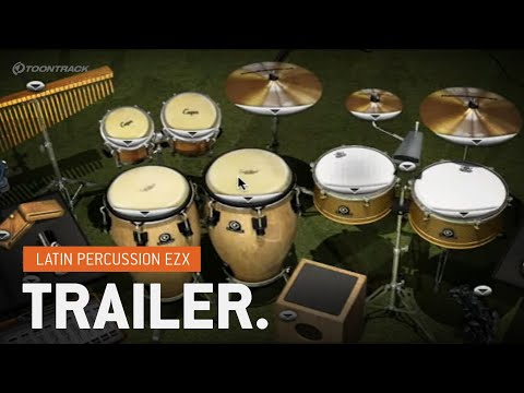Latin Percussion EZX® (for EZdrummer®) - Introduction