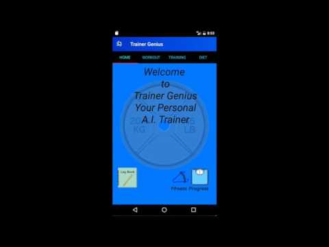 Bodybuilding Trainer Pro Fitness app screenshot for Android