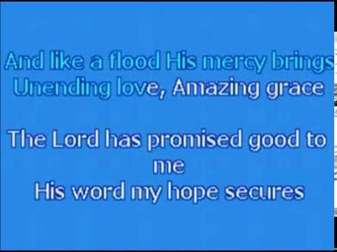 Karaoke   Chris Tomlin - Amazing Grace (my Chains Are Gone) Original Key video