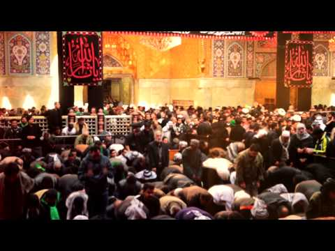 Husain (as) Kay Dar Per - Mir Hasan Mir Manqabat 2014-15 video