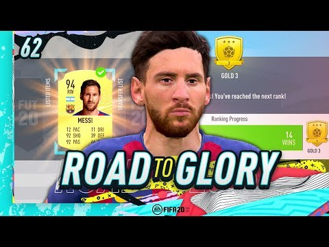 FIFA 20 ROAD TO GLORY #62 - SOLD MESSI!
