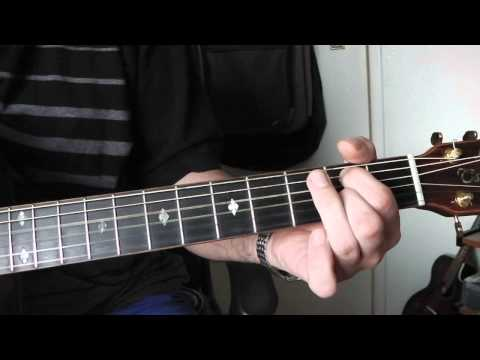 Play 'speed Of Sound' By Chris Bell. Guitar Chords Part 1. video