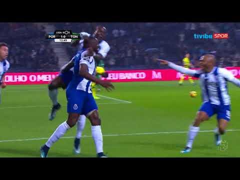 Portekiz Ligi 19. hafta   Porto 1 - 0 Tondela Maç Özeti