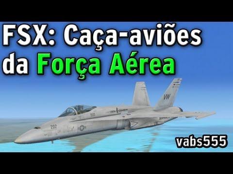FSX: Caça aborda avião no ar em espaço aéreo restrito