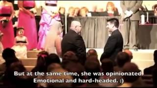 Father's Speech at Daughters Wedding - We Worked Hard, Don't Screw it Up