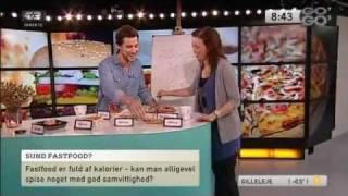 Bitz i Go' Morgen Danmark: Fastfood og kalorier
