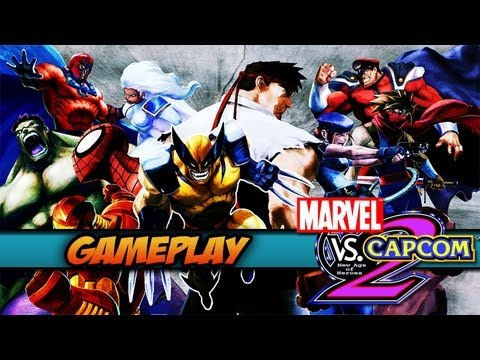Marvel Vs. Capcom 2: Hora da Luta -PS2