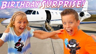 Paxton and Payton Twin Birthday SURPRISE!!