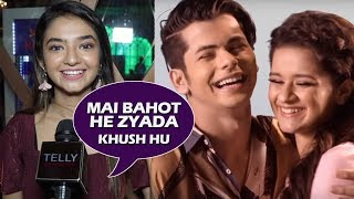 Anushka Sen REACTS ON Siddharth Nigam & Avneet Kaur's Song ATTACHMENT
