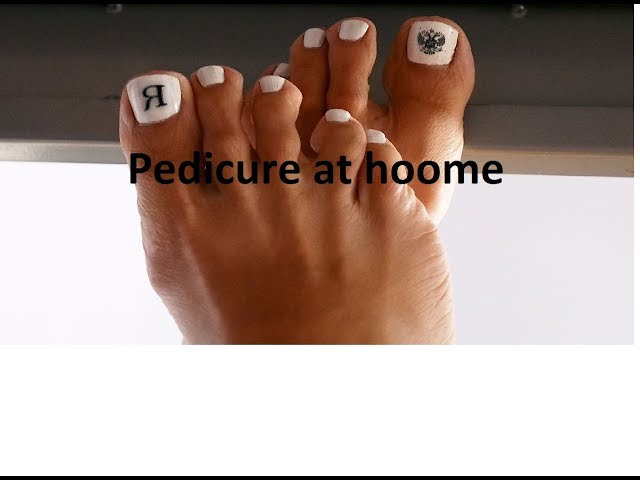 Pedicure at home !!!
