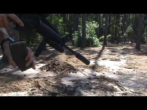 Silenced Suppressed M4 AR15 GEMTECH TREK 5.56 223 Demo