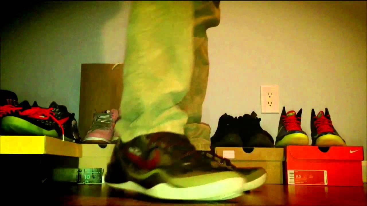 Kobe 8 Python on Foot Nike Kobe 8 System Python on