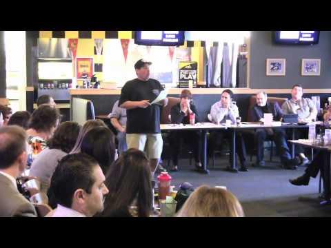 11/2/11- Presentation by Auto Repair Specialist Harley Hofmeister @ Platinum Coast BNI