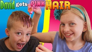 I Colored My Brother's Hair PINK!