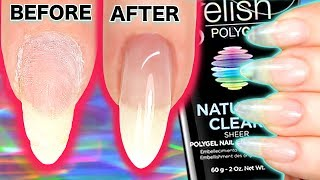 HOW TO APPLY GEL NAILS (POLYGEL) inc REBALANCE  INFILL BACKFILL | Gelish Polygel Review, Application