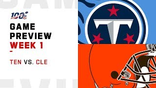 Tennessee Titans vs. Cleveland Browns | Week 1 Game Preview | Move the Sticks