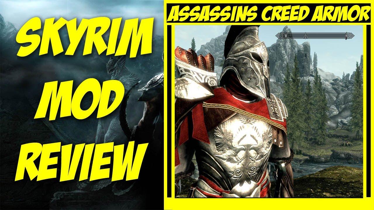Skyrim Assassin Armor Mods Skyrim Mod Review Assassins