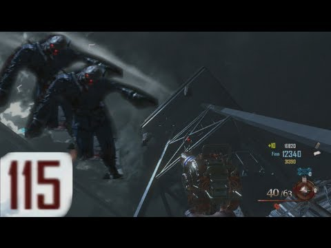 Round 115 Zombies VS CoD's Finest Sniper - Mob of the Dead PS3 Uprising Gameplay