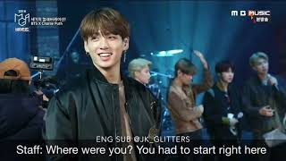 [ENG SUB]BTS X Charlie Puth Behind the scene from MGA (MBC Plus X Genie Music Awards 2018)