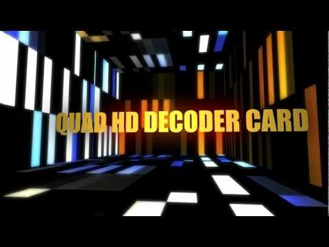 Quad Decoder Card intro