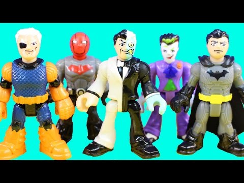 Imaginext DC Superfriends Series 1 Mystery Blind Bag Surprise Possible Batman Nightwing Red Hood