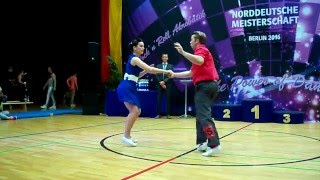 Olivia Rietze & Felix Becker - Norddeutsche Meisterschaft 2016
