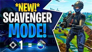 *NEW* SCAVENGER MODE! (Fortnite Battle Royale)