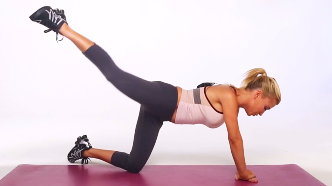 Kick Workout Single-leg Kick Workout Move