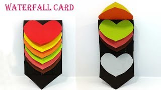 Pop Up Card: Heart  learn how to make a popup heart greeting card Handmade Pop up Card Paper Crafts