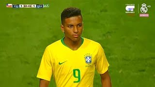 Rodrygo Goes vs Chile U-20 | Every Touch | 13/10/2018