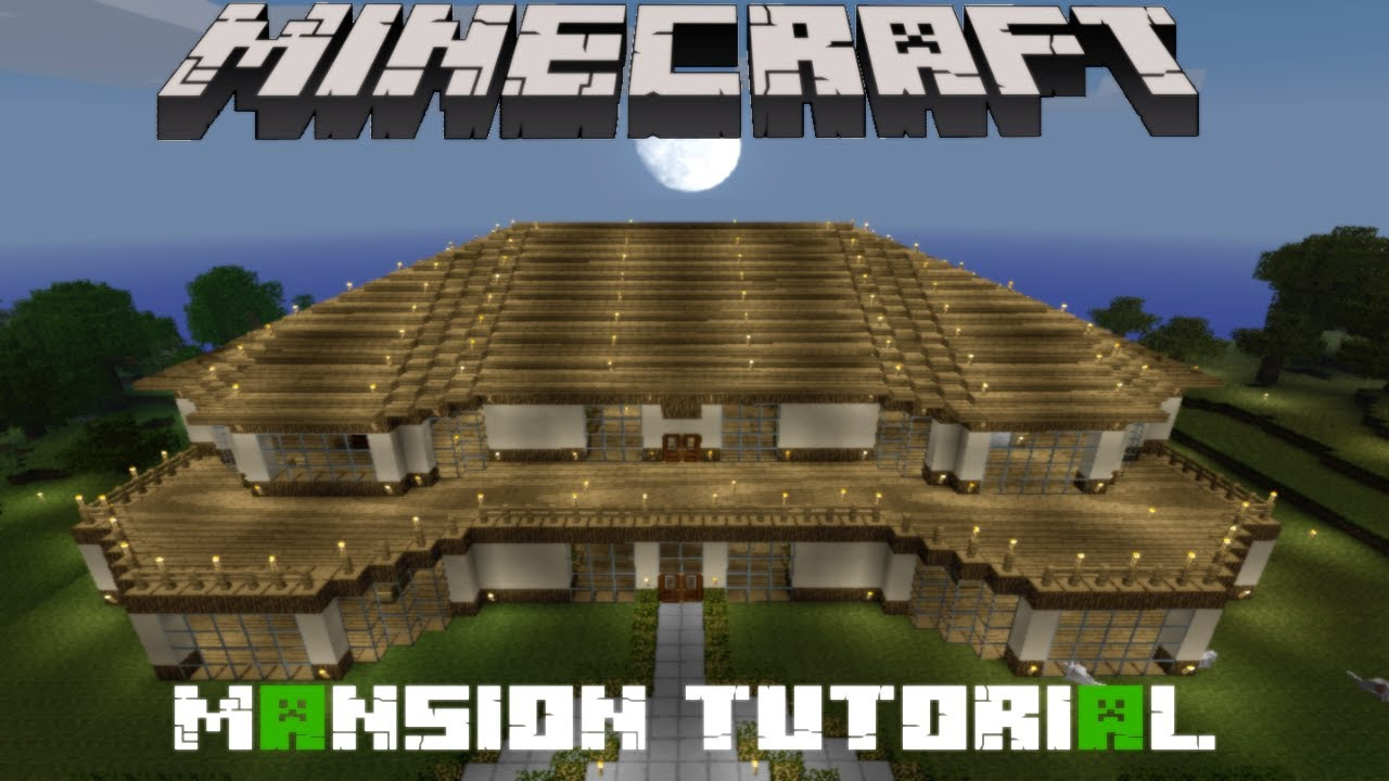Minecraft Awesome Mansion Tutorial Minecraft Quot Awesome