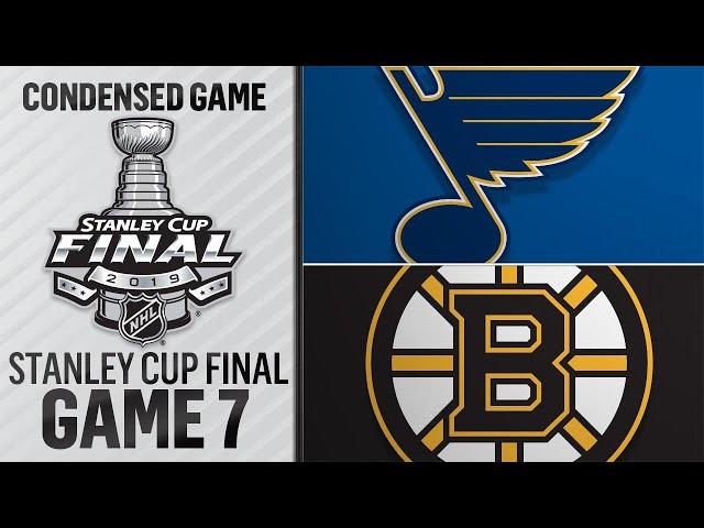 061219 Cup Final, Gm7 Blues  Bruins