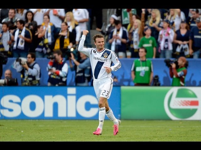David Beckham Walks Off the Field for Final Time with Galaxy