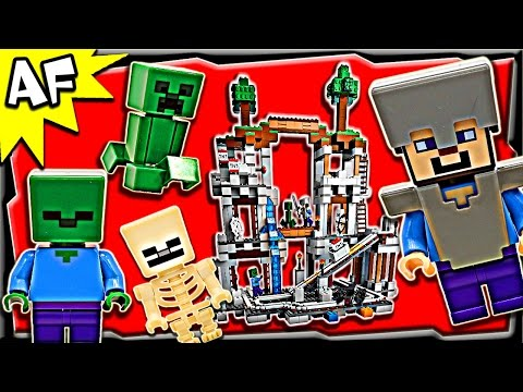 Lego Minecraft The MINE 21118 Stop Motion Build Review