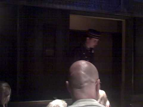 Creepy Bellhop at Disneyland s Tower of Terror