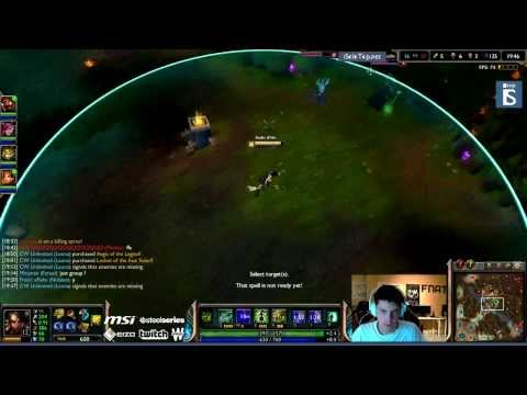 xPeke plays Nidalee - Mid - | EpicGame - Duo Cyanide | Season 4