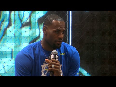 LeBron's first interview since return