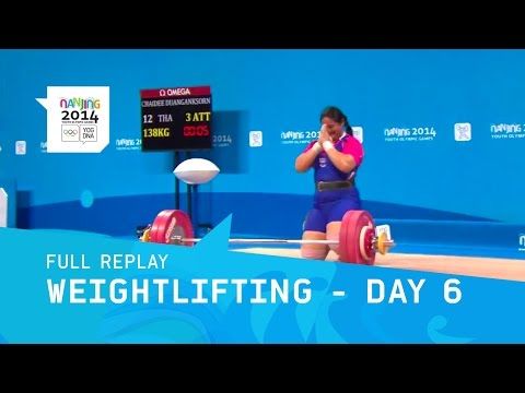 Weightlifting - Women's +63kg Final | Full Replay | Nanjing 2014 Youth Olympic Games