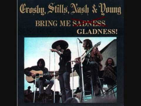 Crosby Stills Nash Young : Greek Theatre 1969 : Long Time Gone .