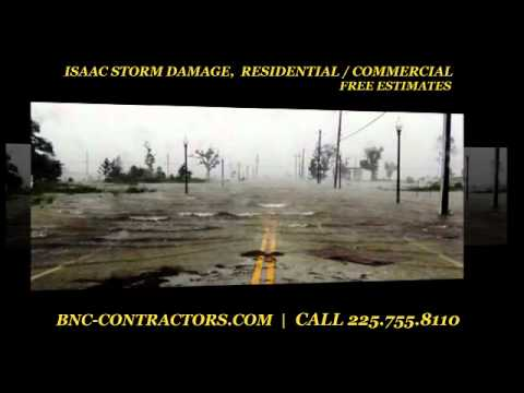 Isaac Storm Damage Baton Rouge La Restoration