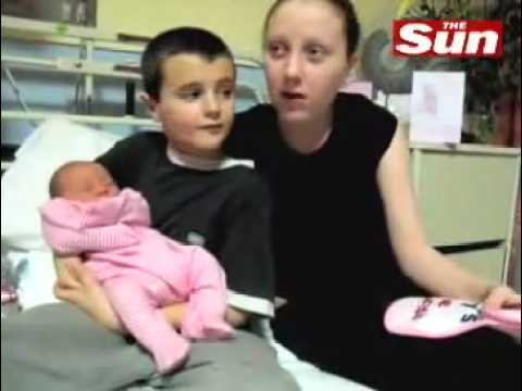 British Boy Became Father at the age of 13 Amazing Video