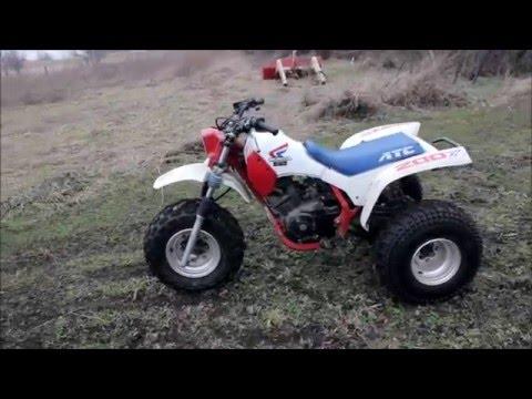 1986 Honda 200x Full Throttle Review!!
