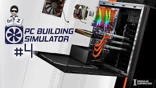 PC Building Simulator (PCbs) #4  Will It Rum y el rendimiento de piezas  (PC) Gameplay Español