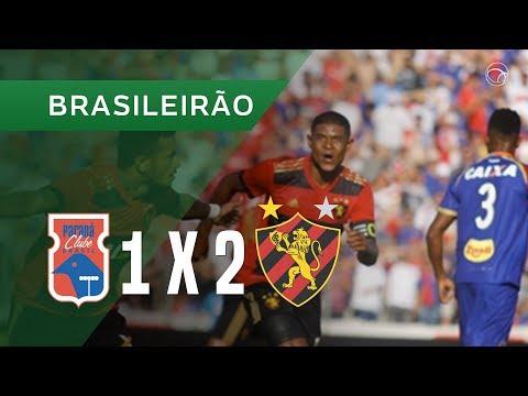 PARANÁ 1 X 2 SPORT - 29/04 - BRASILEIRÃO 2018